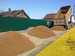 Сеяный песок 2 класса самосвалами