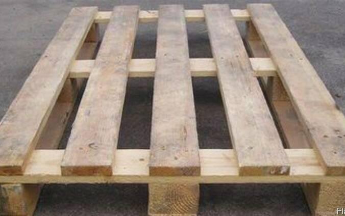 Продам деревянные 1000x1200 поддоны б/у