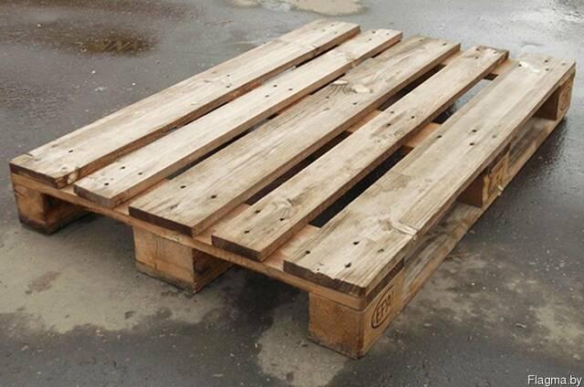 Продам поддоны деревянные 800x1200 б/у