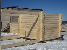 Продам сруб дома, бани размер 4 на 4 с выносом на 2 метра