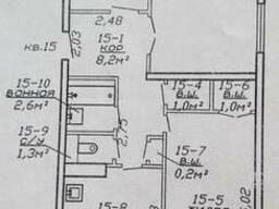 Продаю 3-х комнатную квартиру с новым евроремонтом (63,9/41,