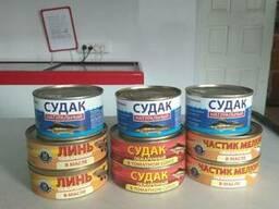Продажа рыбной консервы