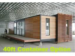 Проект павильона, проект мобильного дома, дом-контейнер