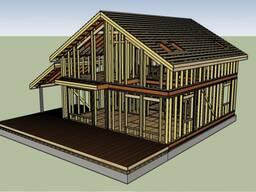 Проекты для каркасных домов.