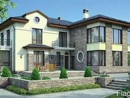 Проекты домов и коттеджей. Индивидуальное проектирование.