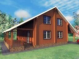 Проекты жилых домов, коттеджей, бань, летних кухонь, хозпост