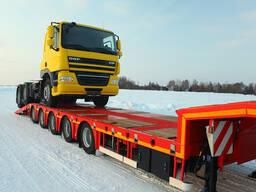 Профессиональная перевозка грузов тралом, площадкой.
