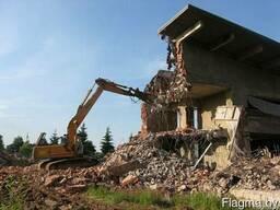 Профессиональный снос и демонтаж зданий и сооружений.
