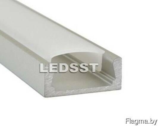 Профиль алюминиевый накладной MICRO 15,2х6 для ЛЕД ленты