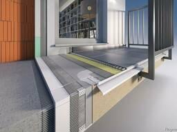 Профиль для балконов алюминиевый оптом от производителя