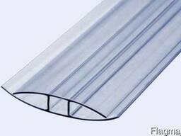 Профиль поликарбонатный соединительный 4мм