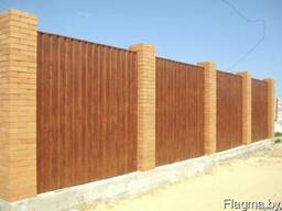 Профнастил П20 (МП20, С20) для заборов и стен