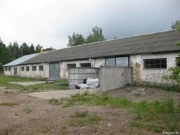 Производственное здание в г.п. Плещеницы, Логойского района