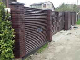 Производство и установка бетонных заборов