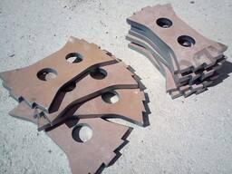 Производство износостойких молотков для всех типов дробилок