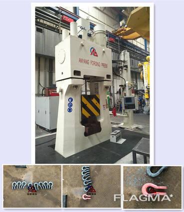 Производство линейных арматур (скоба) с молотом С92К-50