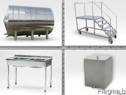 Производство технологич оборудования, нержавеющие конструкции