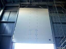 Промышленные секционные ворота купить - фото 4