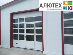Промышленные ворота Alutech ProTrend микроволна 3900*3800
