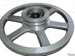 Проточка колес ленточной пилорамы