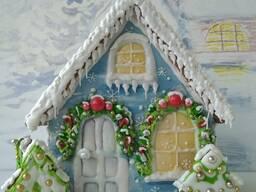 Пряничный домик Зима