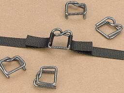 Пряжка металлическая для лент ПП (стреппинг)