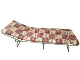 Раскладушка Эконом с матрасом раскладная кровать - фото 2