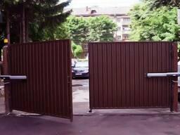 Распашные ворота с автоматикой