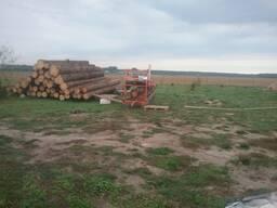 Распил древесины с выездом.