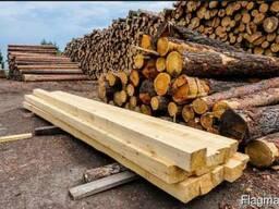 Распиловка древесины (выездная пилорама)