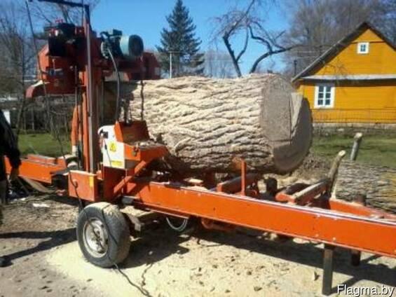 Услуга по Распиловка леса с выездом к заказчику