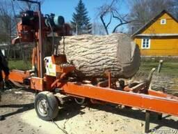 Распиловка леса. древесины. кругляка с выездом к заказчику