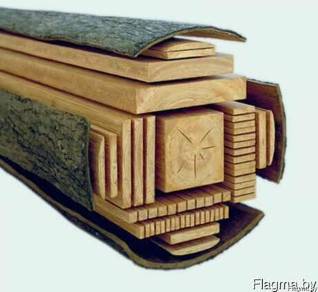 Распиловку древесины с Вашего материала.