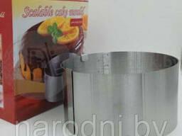 Раздвижное кольцо для торта Scalable cake mould (d 16-30см)