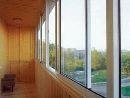Раздвижные балконные рамы | алюминий | пвх