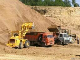 Реализация песка, гравия, чернозема, навоза, блоки г/с, фбс.