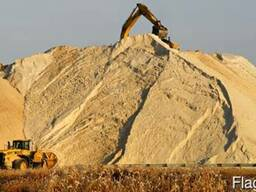 Речной песок, карьерный Песок в лиде. Доставка песка