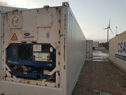 Рефрижераторный контейнер Carrier 20' морской.