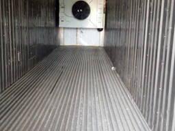 Рефрижераторный контейнер шоковой заморозки