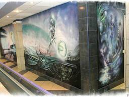 Рекламное граффити - фото 4