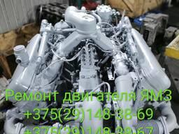 Ремонт двигателя ЯМЗ 6562