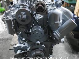 Капитальный ремонт двигателя ЯМЗ 6562. 10