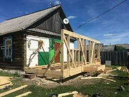 Ремонт и реконструкция деревянных и каркасных домов