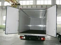 Ремонт изотермических фургонов