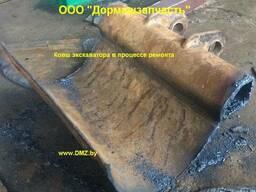 Ремонт ковша экскаватора