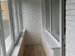 Ремонт лоджий балконов