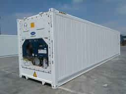 Ремонт рефрижераторных контейнеров Carrier.