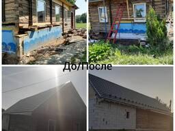 Ремонт, реконструкция, подъем деревянного дома
