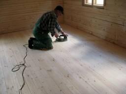 Замена деревянные полы на дачах и за городом доме и