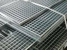 Решетчатый настил из нержавеющей стали, прессованные решетки